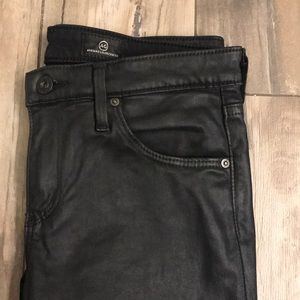 Anthropologie Jeans - Anthropologie faux leather skinny jeans